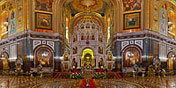 Храм Христа Спасителя - Внутреннее пространство Храма