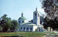 Тихвинский храм 1975 год